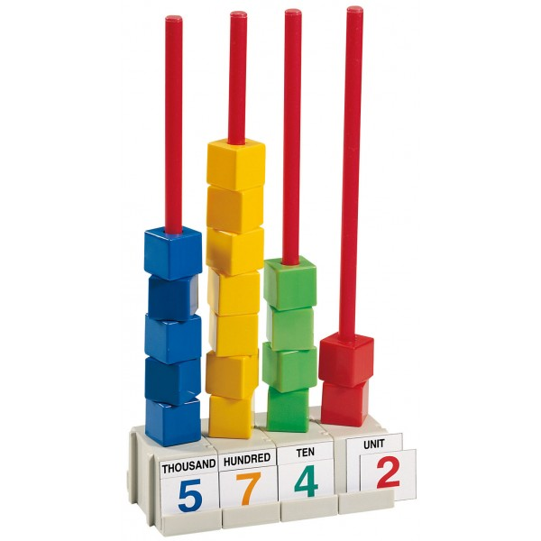 Linkable Abacus - Gigo Teaching Aids