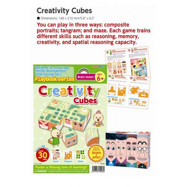 Brain Teaser Creativity Cubes 6+