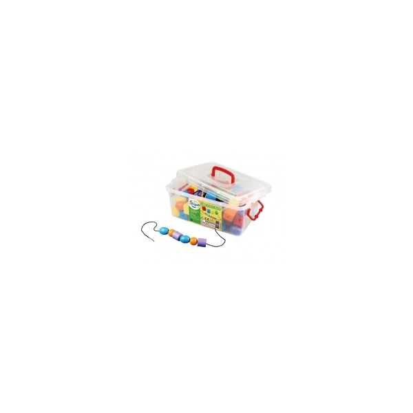 Jumbo Plastic Beads - Gigo Early Childhood