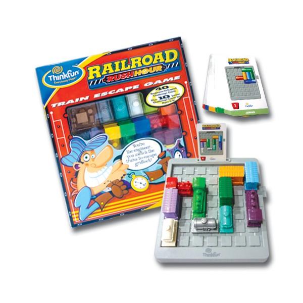 Railroad Rush Hour - ThinkFun