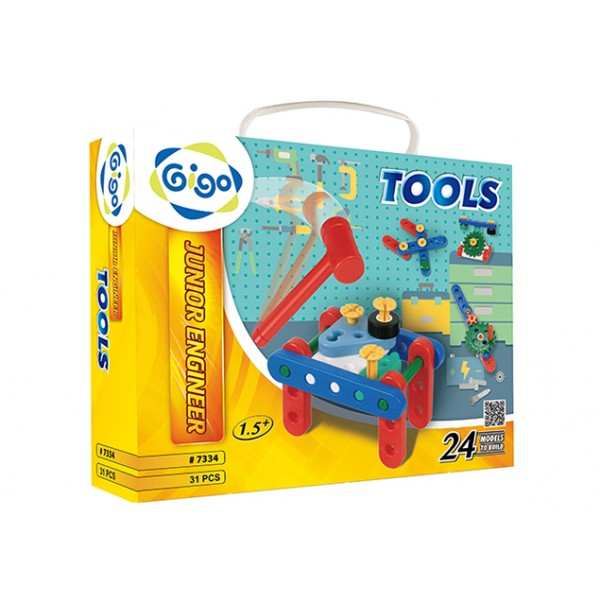 Junior Engineer Tools - Gigo Construction Toys