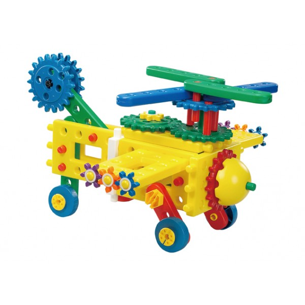 Junior Engineer Gear Up 7333P - Gigo Construction Toys