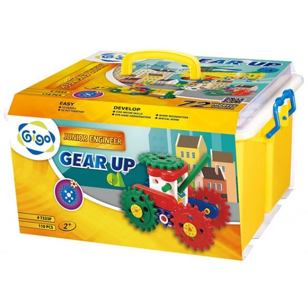 Junior Engineer Gear Up - Gigo Construction Toys