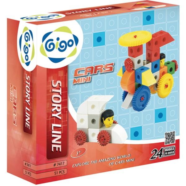 Cars Mini - Gigo Construction Toys