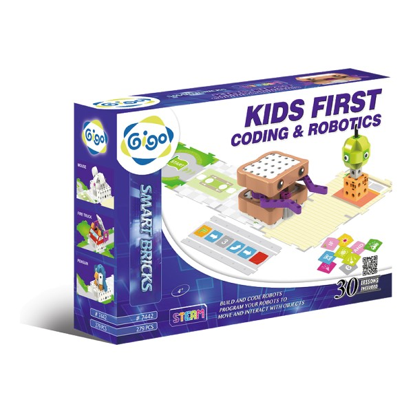 Kids First Coding & Robotics - Gigo Smart Bricks