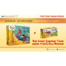Paket Hemat Gigo Junior Engineer Tools + Crazy Monster